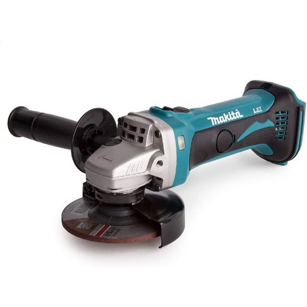 AMOLADORA ANGULAR 115mm MAKITA 18V BATERIA